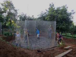 Placing Mesh Cylinder for Cistern