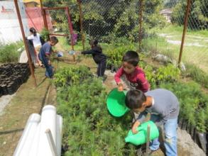 School nursery at Crescencio Morales community