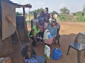 One of our beneficiaries. This is their home!
