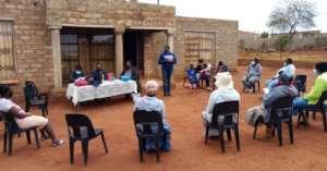 A Self Help Group operating around Shiluvane