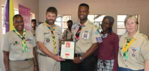 Chief Scout of South Africa, Nsuku and his Granny