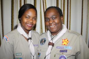 ELizabeth and her daughter Nkulu our Social Worker