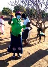 Dancing and celebrating when taking out loans