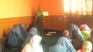 Health Education inside a Madrassa