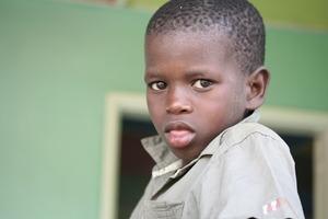Mbaye Ka, a talibe child precious to Francesca