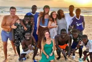 On the beach - a lighter side of volunteering