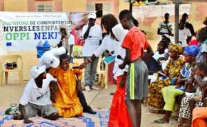 Skits dramatize difficult lives of talibe children