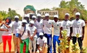 MDG team arrives in Kaffrine for the 1st campaign
