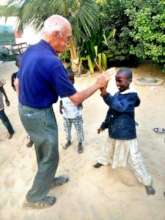 High five with a young talibe