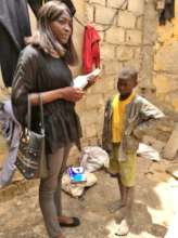 MDG social worker Aby Ba on follow-up visit