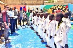 Maison de la Gare karate tournament awards