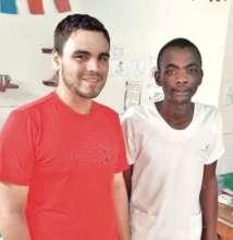 With Maison de la Gare nurse Abibou