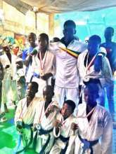 Buaro proudly presents tournament winners at MDG