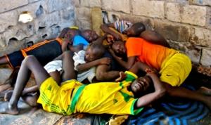 Nov/13 - Talibe sleeping quarters, Arouna's daara