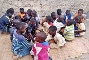 The happy result, over 1,500 children fed each day