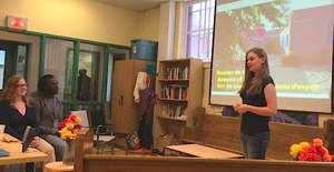 Rowan presents Maison de la Gare and its mission
