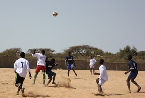 Talibes leap for the sky in MDG soccer tournament