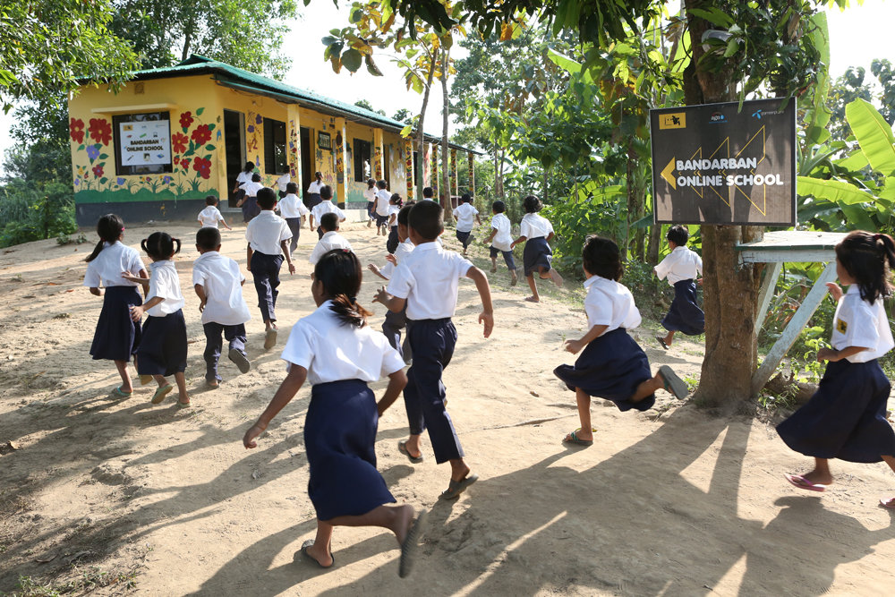 Free-of-cost School for Underprivileged Children