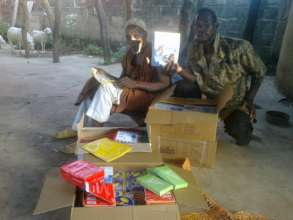School supplies for Djendji village