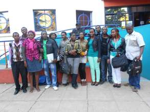 Lead Us Today mentors after training in July 2012