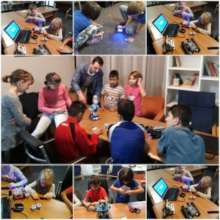 STEM classes at orphanage