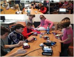 Robotics Class at the Afterschool Program