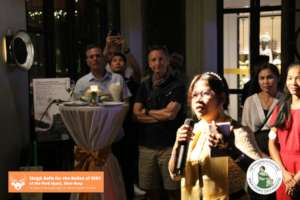 Program Manager, Pisey's speech at our fundraiser