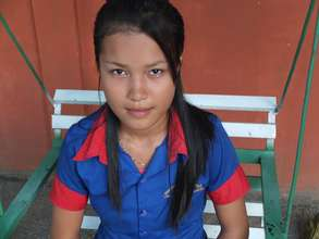An empowered young woman after our health workshop