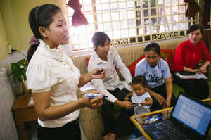 Families learn together in a supported environment