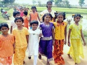 Project target group: Rural school children