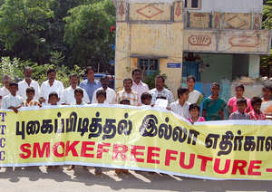 WESWA anti-tobacco campaign