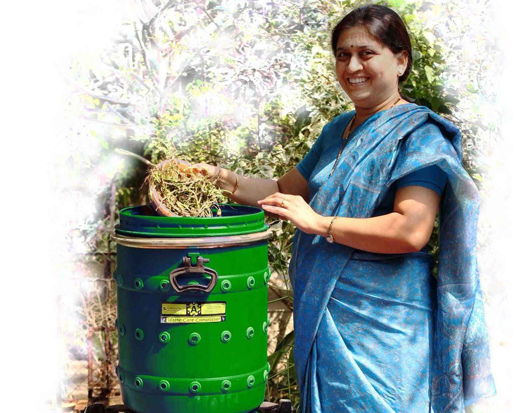 'Waste Care' Composters for zero-waste cities!