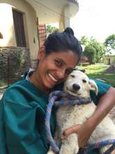 Volunteer with Sterilization Patient