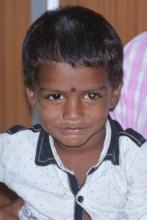 Ganesh, a patient at Aravind Eye Hospital-Madurai