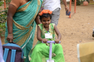Sri Rithika, now cancer-free.