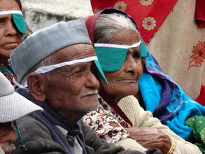 After a cataract camp at Aarohi