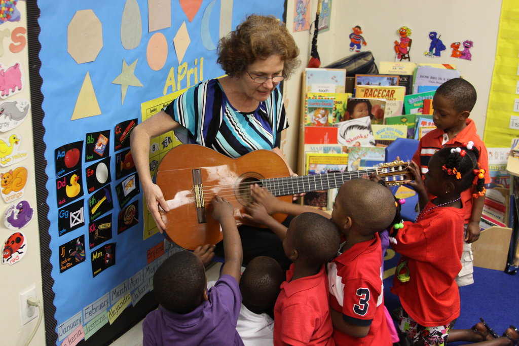Give Preschool Children a Musical Head Start!