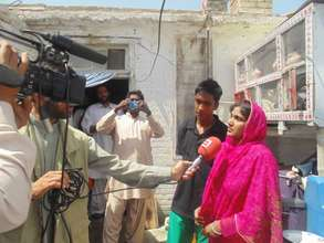 interview of Faizan's family