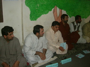 community members during workshop