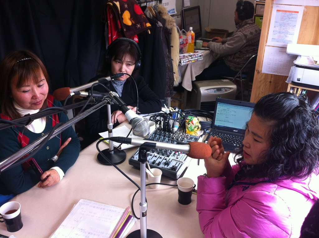 FM Broadcast Stations supporting Disaster Victims