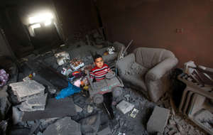 Gaza - destruction and recovery