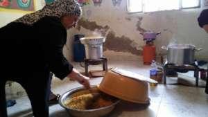 Women at work in Karama