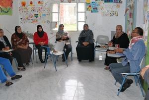 Women's meeting in Karama
