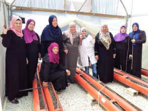 New participants of the rooftop greenhouse project