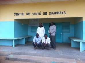 Merlin supported health facility in Djarmaya, Chad