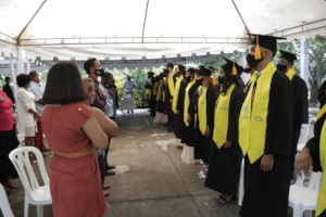 Fifteenth graduation ceremony