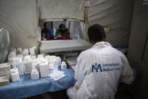 Pharmacy at Int'l Med Corps' Health Clinic