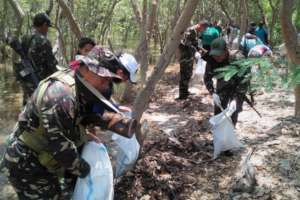 Soldiers do their share for the environment