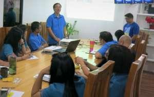 LGU-Lian MENRO  during presentation of results