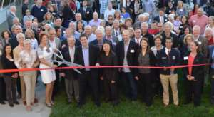 Ribbon cutting - thanks for making it possible!